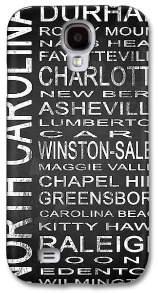 Charlotte Mixed Media Galaxy S4 Cases - SUBWAY North Carolina State 1 Galaxy S4 Case by Melissa Smith