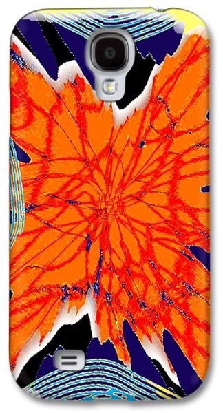 Abstract Digital Galaxy S4 Cases - Succulent Citrus Galaxy S4 Case by Will Borden