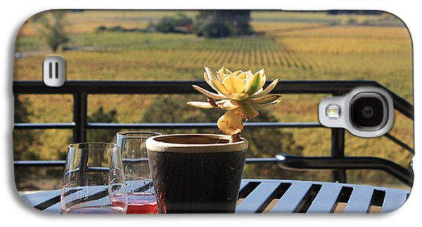 Vineyard In Napa Galaxy S4 Cases - Succulent Napa Valley Galaxy S4 Case by Penelope Moore