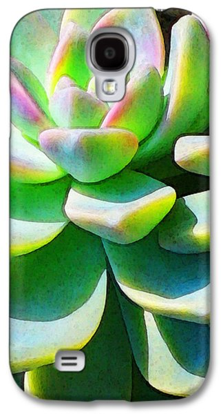 Gardening Photography Galaxy S4 Cases - Succulent - Plant Art By Sharon Cummings Galaxy S4 Case by Sharon Cummings