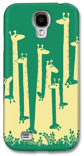 Giraffe Digital Galaxy S4 Cases - Such a great height Galaxy S4 Case by Budi Kwan