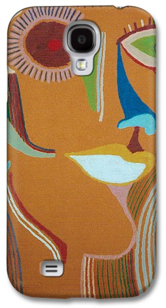 Torn Pastels Galaxy S4 Cases - Sue 1 Galaxy S4 Case by Mike Manzi