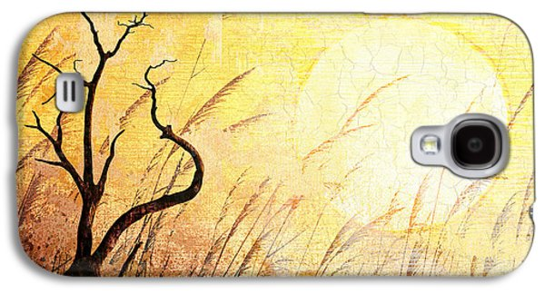 Abstract Digital Art Mixed Media Galaxy S4 Cases - Suffering Galaxy S4 Case by Bedros Awak