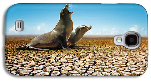 Suffering Seals Galaxy S4 Case by Carlos Caetano