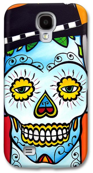 Modern Abstract Drawings Galaxy S4 Cases - Sugar 1 by Fidostudio Galaxy S4 Case by Tom Fedro - Fidostudio
