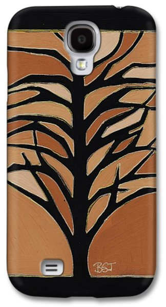 Earth Tones Drawings Galaxy S4 Cases - Sugar Maple Galaxy S4 Case by Barbara St Jean