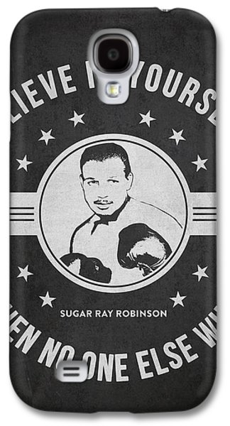 Boxer Digital Galaxy S4 Cases - Sugar Ray Robinson - Dark Galaxy S4 Case by Aged Pixel