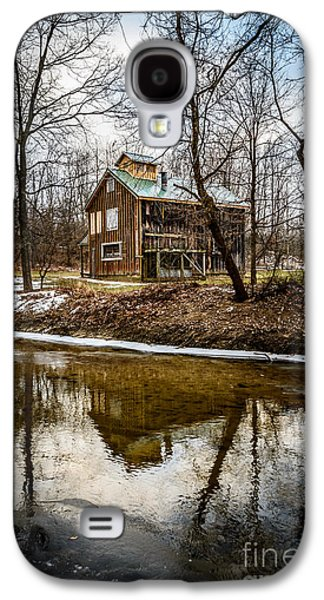 Indiana Winters Galaxy S4 Cases - Sugar Shack in Deep River County Park Galaxy S4 Case by Paul Velgos
