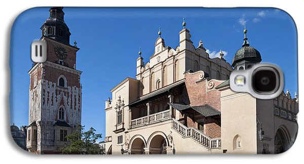 Town Square Galaxy S4 Cases - Sukiennice, The Renaisssance Cloth Hall Galaxy S4 Case by Panoramic Images