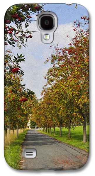 Fruit Tree Galaxy S4 Cases - Summer day in the country Galaxy S4 Case by Aged Pixel
