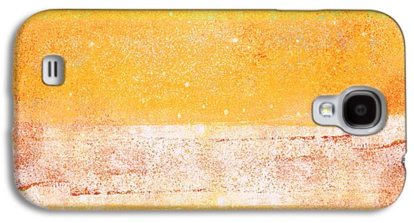Sunny Mixed Media Galaxy S4 Cases - Summer Days Galaxy S4 Case by Carol Leigh