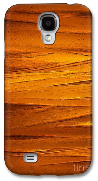 Abstract Landscape Galaxy S4 Cases - Summer Evening II Galaxy S4 Case by Robin Konarz