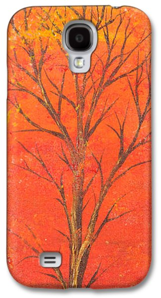 Landscape Acrylic Prints Galaxy S4 Cases - Summer hit Galaxy S4 Case by Roni Ruth Palmer