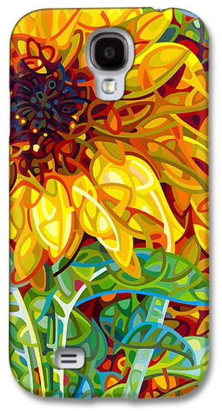 Summer In The Garden Galaxy S4 Case by Mandy Budan