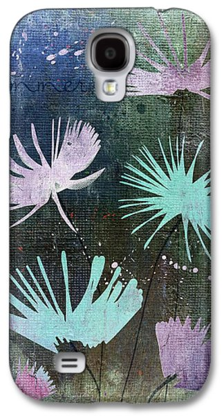 Texture Floral Galaxy S4 Cases - Summer Joy - 28at2 Galaxy S4 Case by Variance Collections