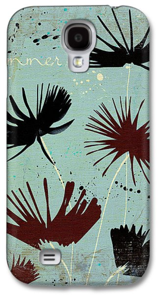 Texture Floral Galaxy S4 Cases - Summer Joy - 91bb Galaxy S4 Case by Variance Collections