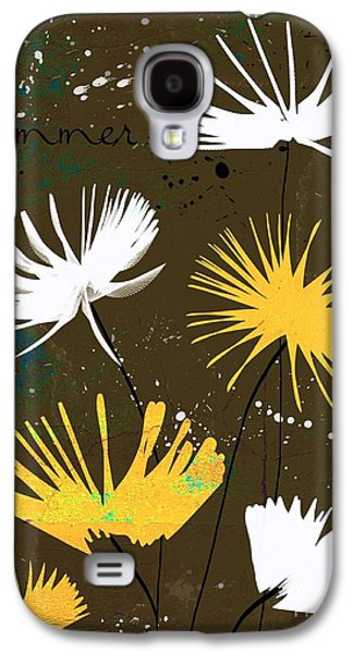 Texture Floral Galaxy S4 Cases - Summer Joy - bdc01b Galaxy S4 Case by Variance Collections