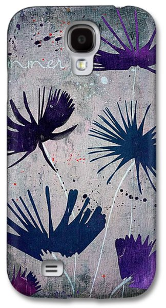 Texture Floral Galaxy S4 Cases - Summer Joy - s25b Galaxy S4 Case by Variance Collections