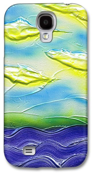 Weathered Reliefs Galaxy S4 Cases - Summer. Galaxy S4 Case by Kenneth Clarke