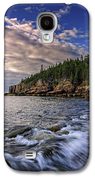 Maine Beach Galaxy S4 Cases - Summer Morn Galaxy S4 Case by Rick Berk