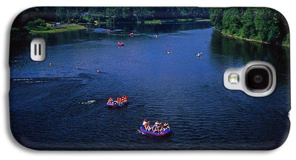 Coasting Galaxy S4 Cases - Summer river tubing Delaware River PA  Galaxy S4 Case by Blair Seitz