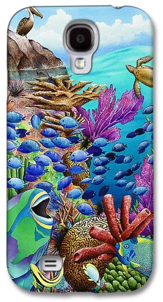 Harmonious Galaxy S4 Cases - Summer School Galaxy S4 Case by Carolyn Steele