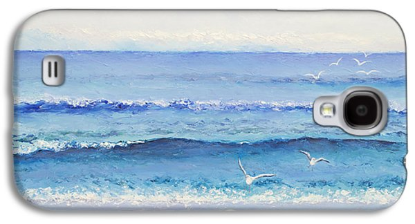 Summer Seascape Galaxy S4 Case by Jan Matson