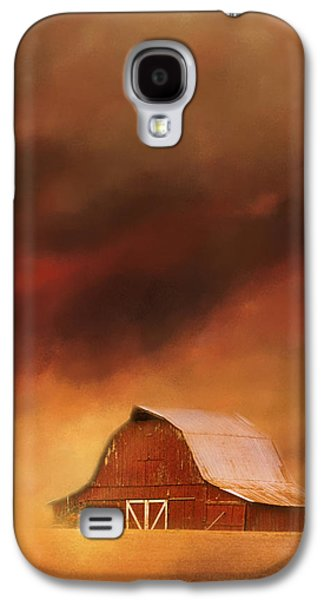 Tennessee Barn Galaxy S4 Cases - Summer Storm At The Barn Galaxy S4 Case by Jai Johnson