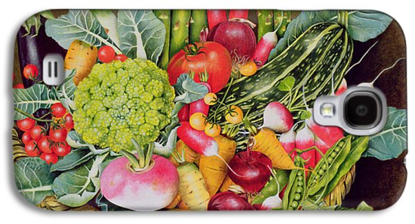 Summer Vegetables Galaxy S4 Case by EB Watts