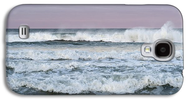 Seaside Heights Photographs Galaxy S4 Cases - Summer Waves Seaside New Jersey Galaxy S4 Case by Terry DeLuco