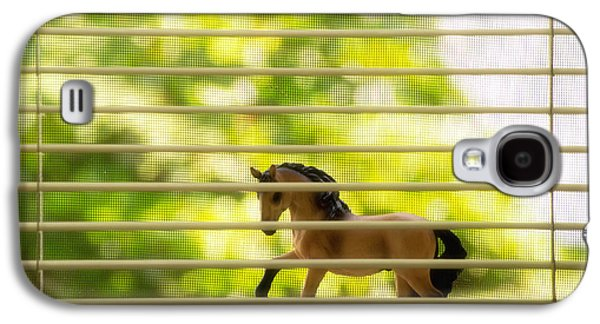 Subtle Colors Galaxy S4 Cases - Summer Window Galaxy S4 Case by Jeff  Gettis