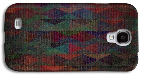 Geometric Digital Art Galaxy S4 Cases - Summernights Galaxy S4 Case by Mimulux patricia no