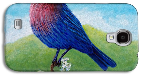 Spiritual Paintings Galaxy S4 Cases - Summertime Galaxy S4 Case by Brian  Commerford