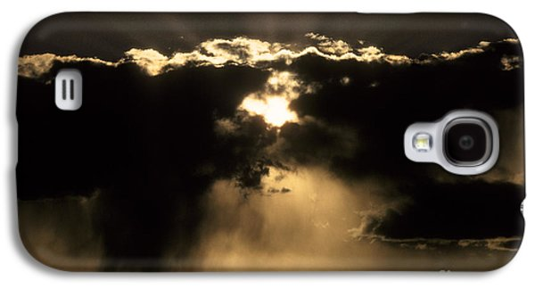 Sun Galaxy S4 Cases - Sun And Clouds Galaxy S4 Case by Ron Sanford