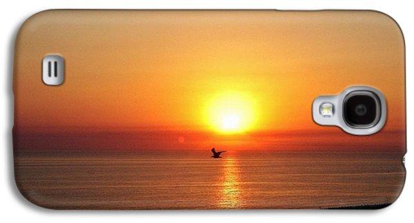 People Pyrography Galaxy S4 Cases - Sun bath.. Galaxy S4 Case by Cristina Mihailescu
