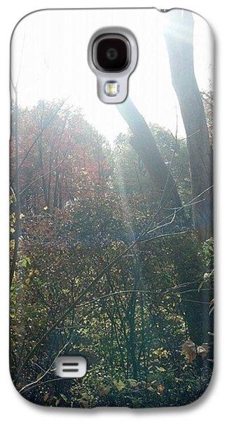 Munroe Galaxy S4 Cases - Sun Cross Galaxy S4 Case by Jenny DiNuoscio