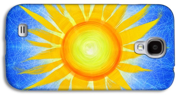 Sun Galaxy S4 Cases - Sun Flower Galaxy S4 Case by Tim Gainey