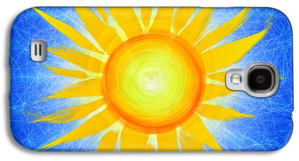 Sun Galaxy S4 Cases - Sun Flower Galaxy S4 Case by Tim Gainey