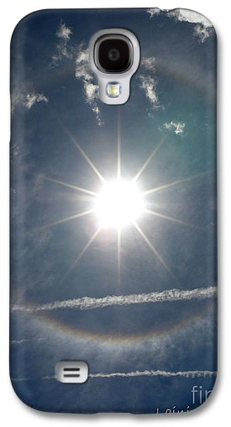 Jet Star Galaxy S4 Cases - Sun Halo Galaxy S4 Case by Lainie Wrightson