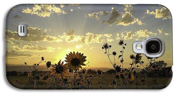 Fort Collins Galaxy S4 Cases - Sun Kissed Galaxy S4 Case by Trish Kusal