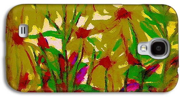 Landscape Acrylic Prints Pastels Galaxy S4 Cases - Sun Reaching Galaxy S4 Case by Gina Seymour