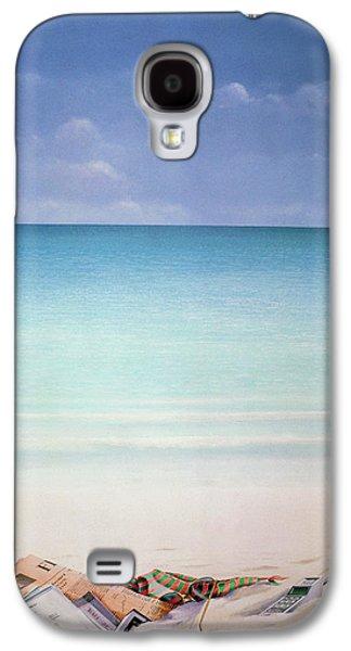 Sun Galaxy S4 Cases - Sun, Sand And Money I Galaxy S4 Case by Lincoln Seligman