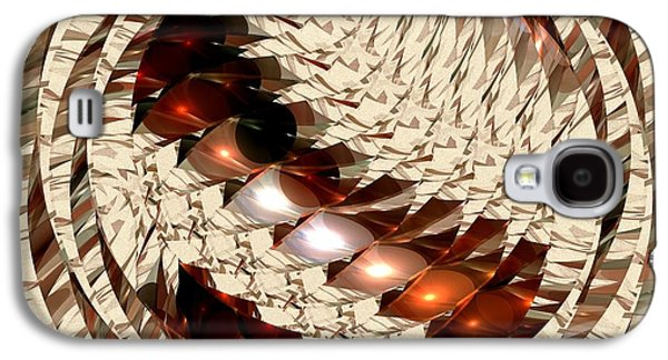 Eyes Galaxy S4 Cases - Sun Sand Shadows Galaxy S4 Case by Anastasiya Malakhova