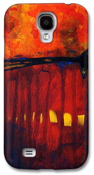 Business Decor Galaxy S4 Cases - Sun Spots Galaxy S4 Case by Nancy Merkle