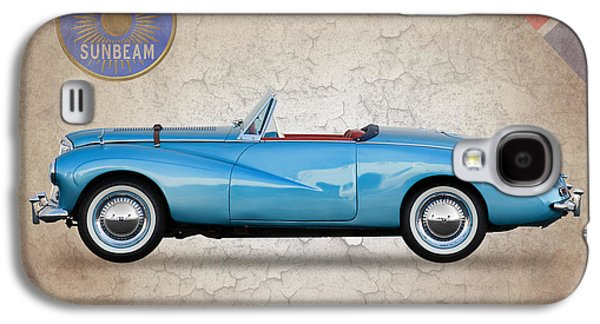 Sunbeams Galaxy S4 Cases - Sunbeam Alpine Sport 1953 Galaxy S4 Case by Mark Rogan