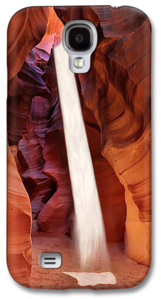 Robert Jensen Galaxy S4 Cases - Sunbeam Upper Antelope Canyon Galaxy S4 Case by Robert Jensen