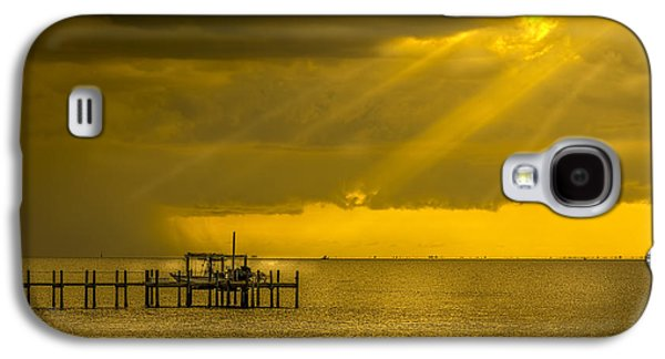 Sunbeams Galaxy S4 Cases - Sunbeams of Hope Galaxy S4 Case by Marvin Spates