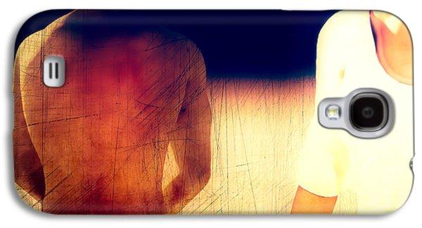 Modern Abstract Photographs Galaxy S4 Cases - Sunburn Galaxy S4 Case by Bob Orsillo