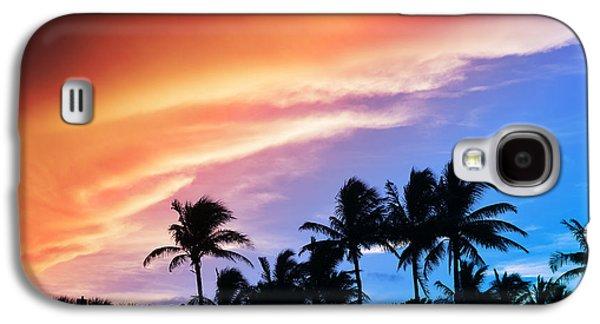 Surreal Landscape Galaxy S4 Cases - Sunburst Galaxy S4 Case by Laura  Fasulo