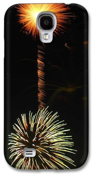 4th July Galaxy S4 Cases - Sunburst Galaxy S4 Case by Optical Playground By MP Ray